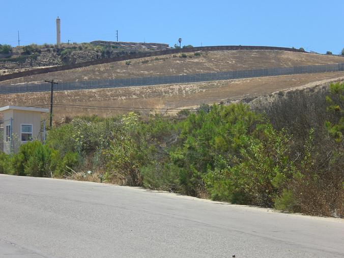 Border wall near Tijuana.